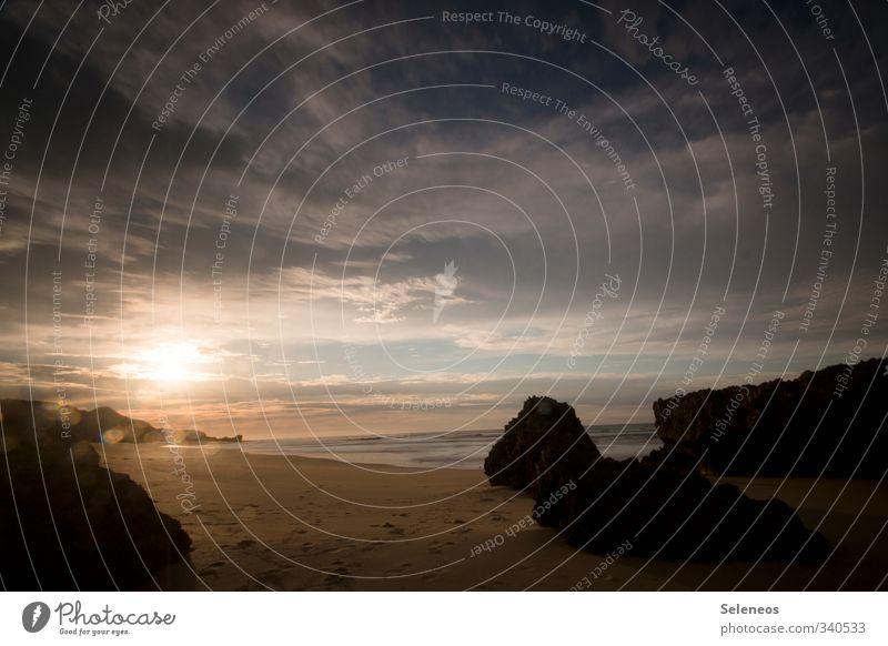 Du suchst das Meer Himmel Natur Ferien & Urlaub & Reisen Sommer Sonne Landschaft Wolken Strand Ferne Umwelt Küste Freiheit natürlich Horizont Tourismus