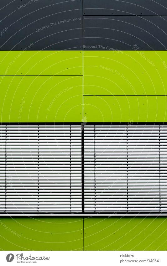 closed grün Haus Fenster Architektur Gebäude Fassade frisch gigantisch
