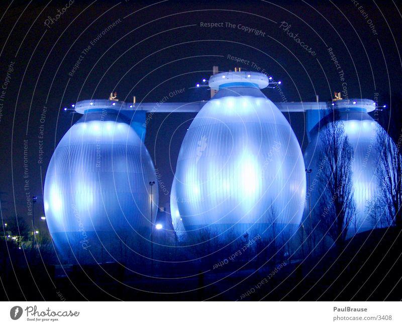 Ostereier Wasser blau Industrie