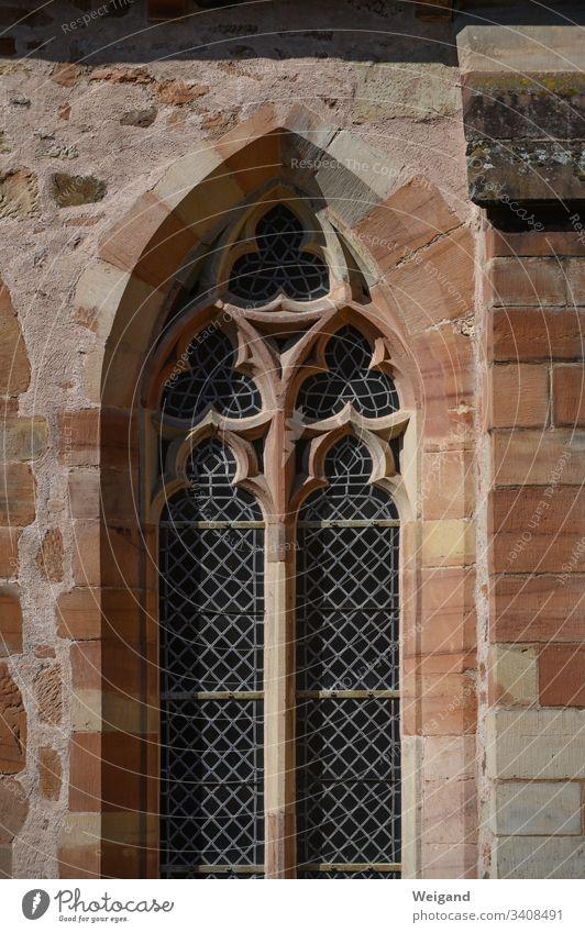 Klosterfenster Fenster gotik kirchenfenster spiritualität meditation ewigkeit mittelalter christentum glaube gebet beten