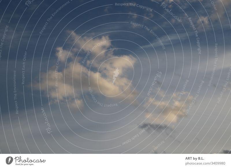 Himmel am Nachmittag in Niedersachsen himmel wolken Blauer Himmel Landschaft Natur Außenaufnahme Menschenleer Farbfoto Tag wolkenmeer wolkenformation wölkchen