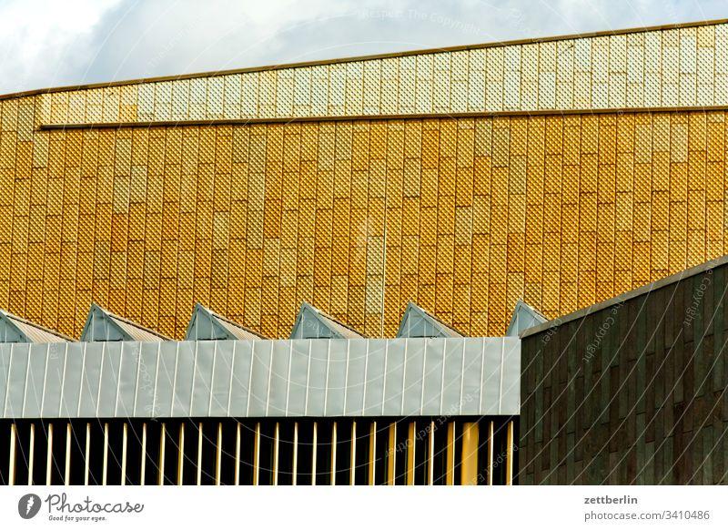 Staatsbibliothek Berlin dach innenstadt menschenleer staatsbibliothek textfreiraum tiergarten fassade berlin potsdamer platz gebäude bildung studium hauptstadt