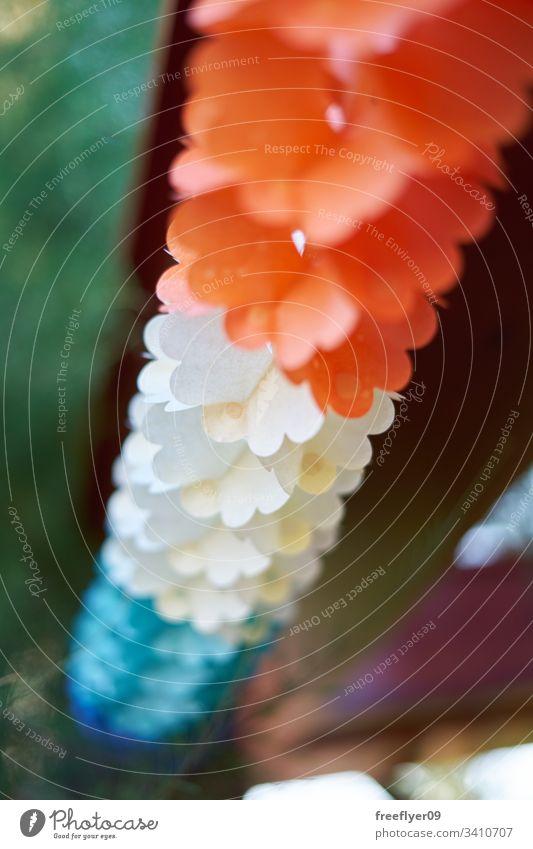 Party-Dekoration aus Papier Hut bezaubernd zu feiern festlich Konfetti Dekoration & Verzierung Spaß Feier niedlich Geburtstag farbenfroh präsentieren Fahne