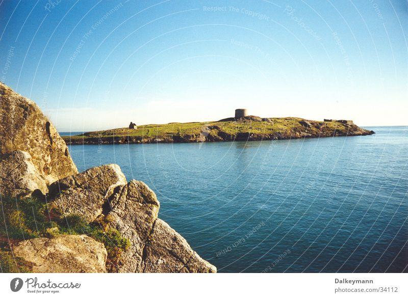 Dalkey Island Wasser Meer Insel Republik Irland