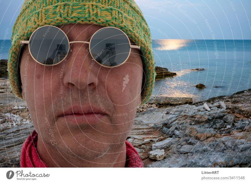 FERNWEH . WANDERLUST küste coast fernweh wanderlust Meer Ferien & Urlaub & Reisen Strand cool urlaub landschaft istrien mittelmeer baden sommer wasser portrait