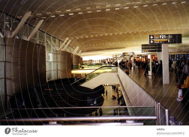 Charles de Gaulles Paris Architektur Flughafen
