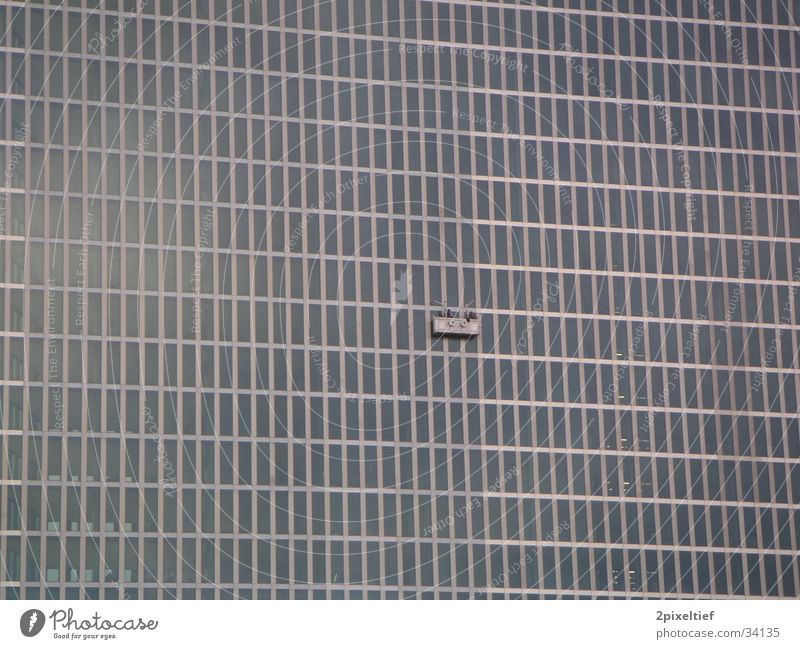 HighLight Munich Business Towers #4 Fenster Architektur grau Glas Beton Hochhaus modern Stahl Geometrie Symmetrie Bildausschnitt Rechteck Bürogebäude Matrix