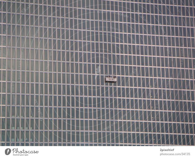 HighLight Munich Business Towers #4 Fenster Architektur grau Glas Beton Hochhaus modern Stahl Geometrie Symmetrie Bildausschnitt Rechteck Bürogebäude Matrix Glasfassade