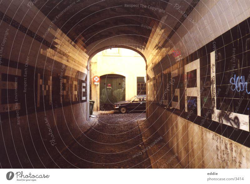Retro Lisboa Lissabon Portugal Architektur tunel alt