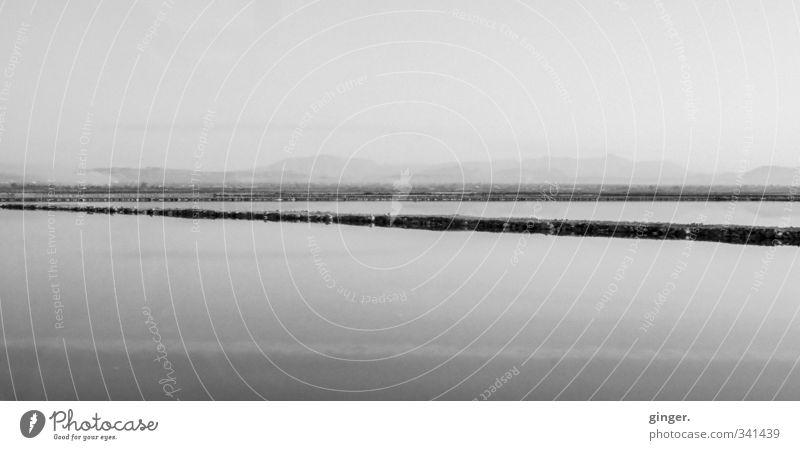 Spanien Himmel Natur alt Wasser Sommer Landschaft Umwelt Ferne dunkel Berge u. Gebirge grau Horizont Linie Nebel Steg Dunst