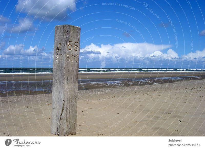 Zandvoort Strand Zuid Meer Strand Sand Niederlande