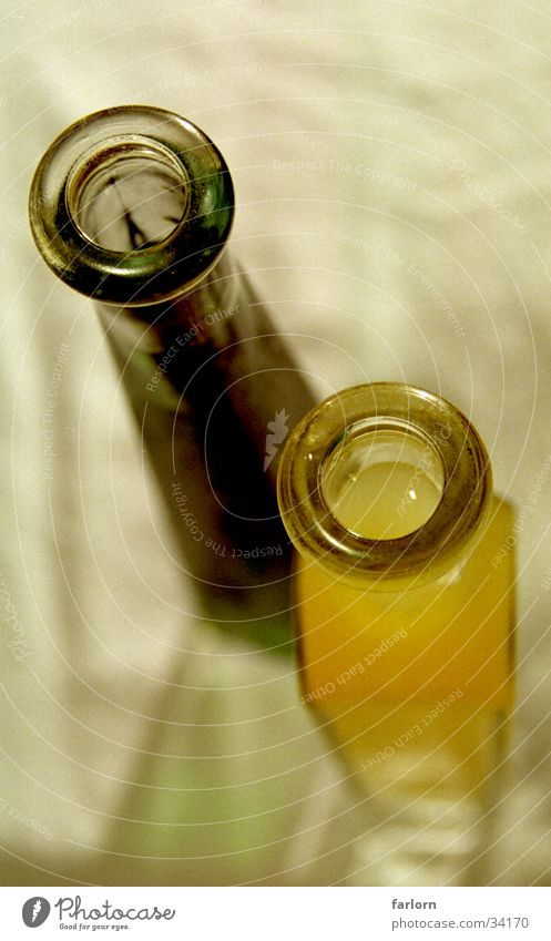flaschenhals Stil Likör Flüssigkeit Häusliches Leben Flasche freihand Glas