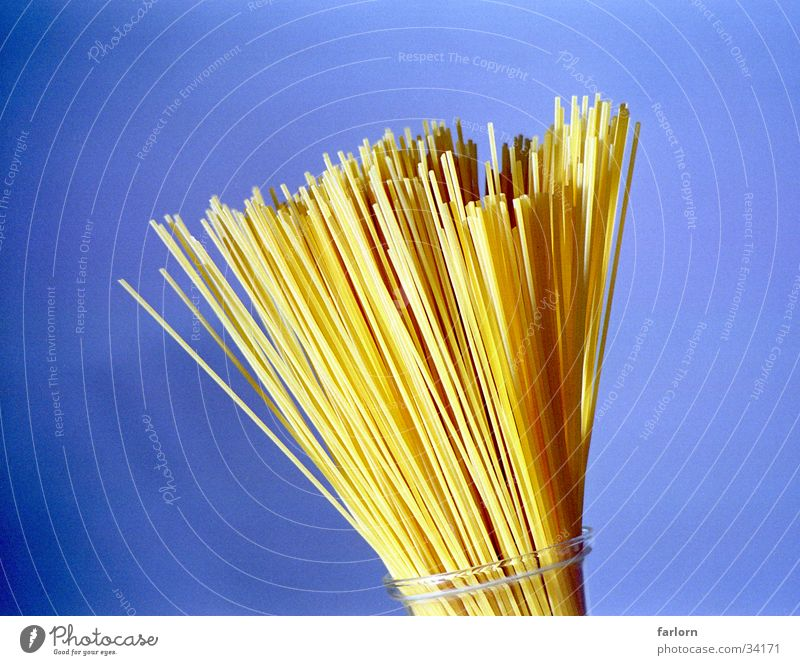 spaghettistrauss Nudeln Spaghetti Fächer Ernährung Blumenstrauß