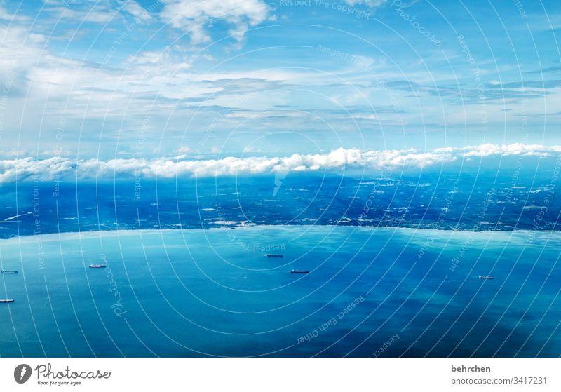 das träumen nicht vergessen Himmel Wolken Wellen Umwelt Natur Klimawandel Landschaft Kontrast Farbfoto Asien Sonnenlicht Ausflug fantastisch außergewöhnlich