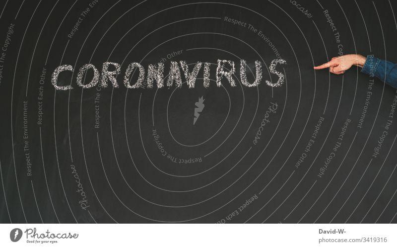 Coronavirus worst case Quarantäne ausgangssperre karantäne Vorsichtsmaßnahme Angst hinweisen Verbot Virus Wort infektiös Infektion Infektionsgefahr Gesundheit