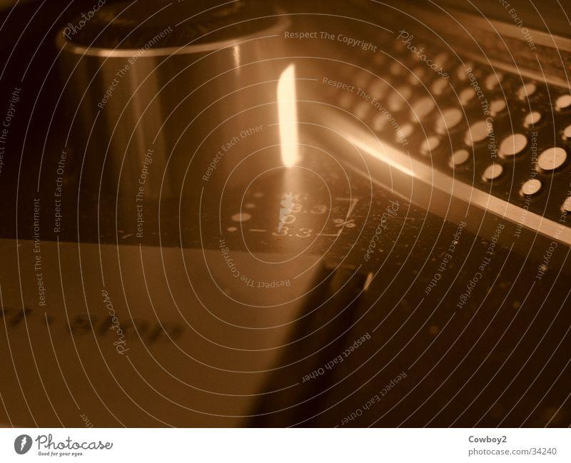 technics Technik & Technologie Club Disco Diskjockey Sepia Plattenteller Plattenspieler