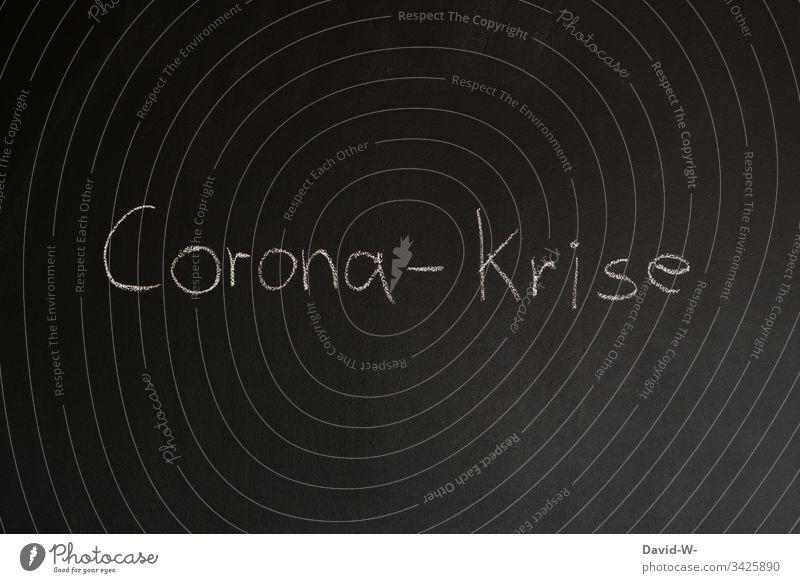 Coronavirus Corona - Krise coronakrise worst case Quarantäne ausgangssperre karantäne Vorsichtsmaßnahme hinweisen Verbot Virus Wort Infektion Infektionsgefahr