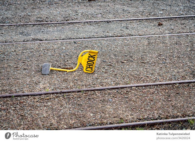 Chock keil bremsklotz eisenbahn schiene neu seeland englisch rollsperre Verkehr Eisenbahn Weg Bahn Ferien & Urlaub & Reisen Ausflug U-Bahn Gleise