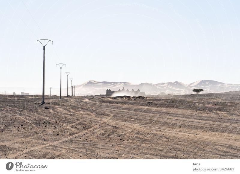 My Home is my Castle Wüste Marokko Rückzugsort Sand Festung Merzouga Sahara Ferien & Urlaub & Reisen Afrika Tourismus Menschenleer