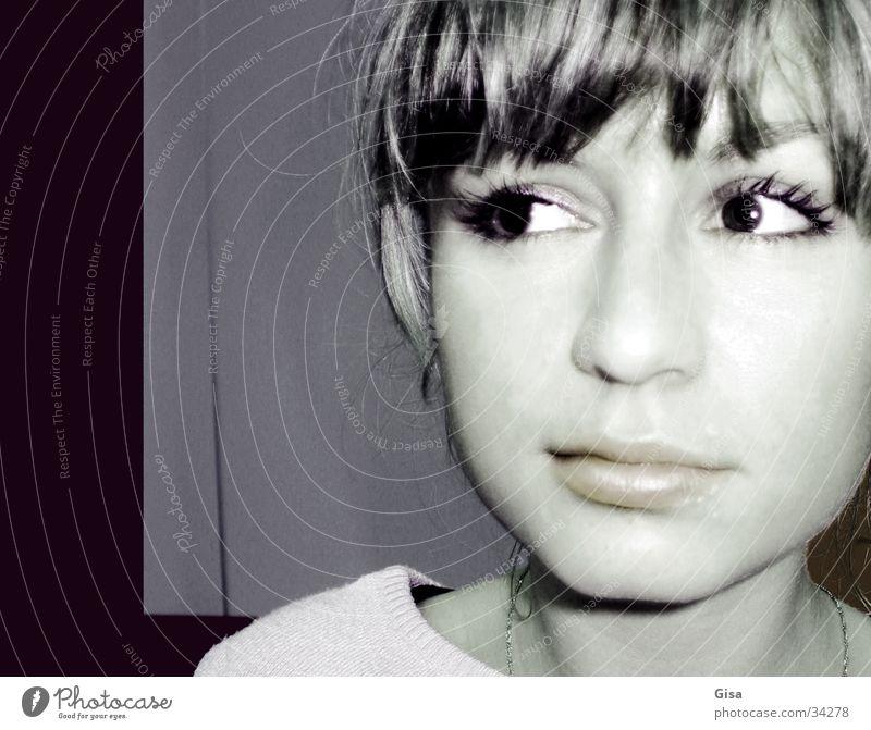 Paulina Frau Kind Mädchen schön Gesicht Auge Haare & Frisuren Lippen Schüchternheit attraktiv