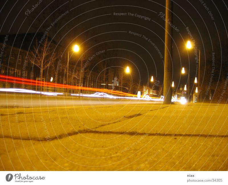zell rot Verkehr Streifen Schlagloch