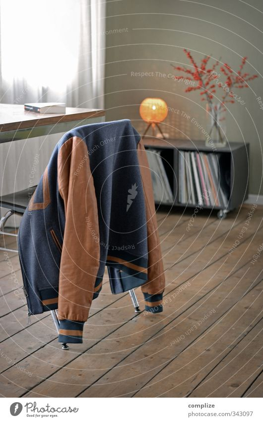 Coming Home Haus Innenarchitektur Autofenster Stil Zeit Lampe Wohnung Raum Häusliches Leben Design Dekoration & Verzierung Tisch Studium retro lesen Stuhl