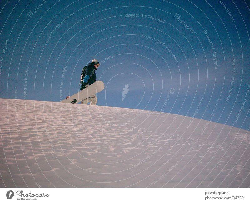 Powder Sport Leben Gefühle Snowboarding