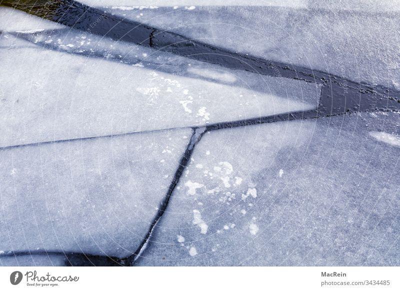 Eisschollen eis eisscholle eisschollen eisplatte eisplatten frost gebrochen gefahr gerissen instabiel taut tauwetter wasser aufgetaut brüchig niemand