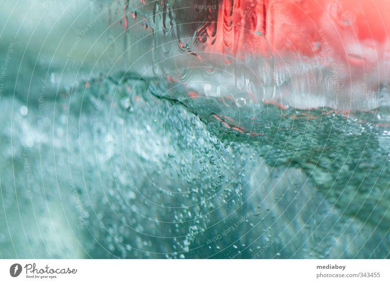Wasser Schwimmen & Baden Ausflug Sommer Wellen Flüssigkeit Farbfoto Außenaufnahme Detailaufnahme Unterwasseraufnahme Tag