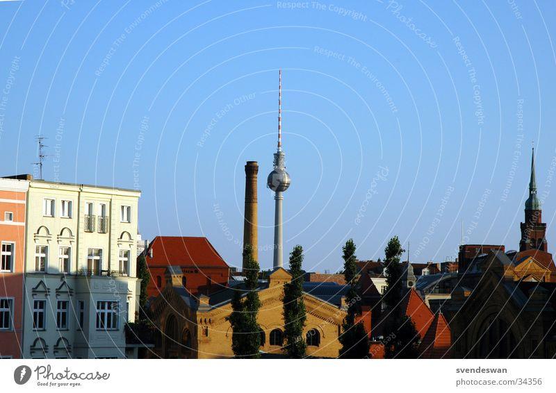 Telespargel Sommer Berlin Architektur Turm Kultur Osten Alexanderplatz