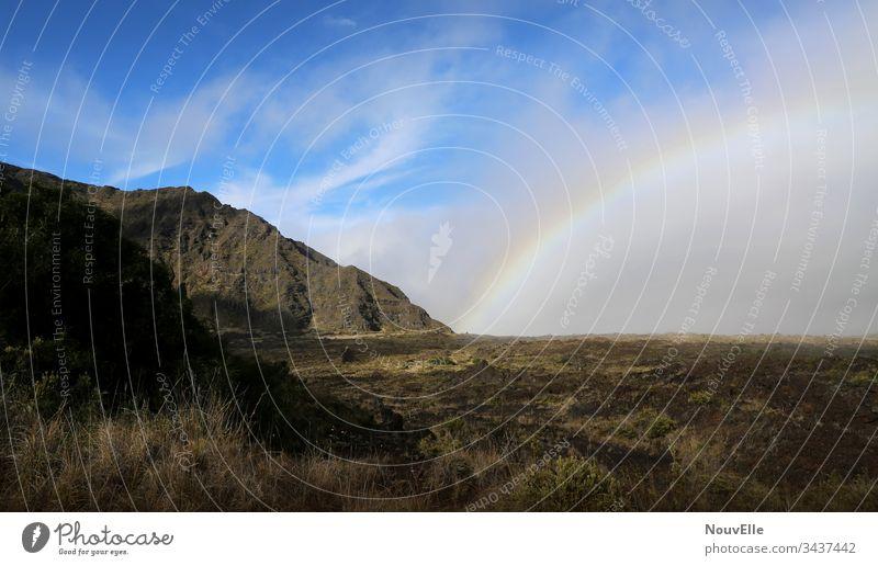 Unterwegs auf Hawaii roadtrip USA Landschaftsformen Berge u. Gebirge Regenbogen Maui Kilauea wandern Natur