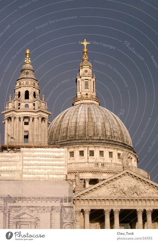St. Pauls Cathedral London Kuppeldach Dom Architektur Religion & Glaube Kathedrale