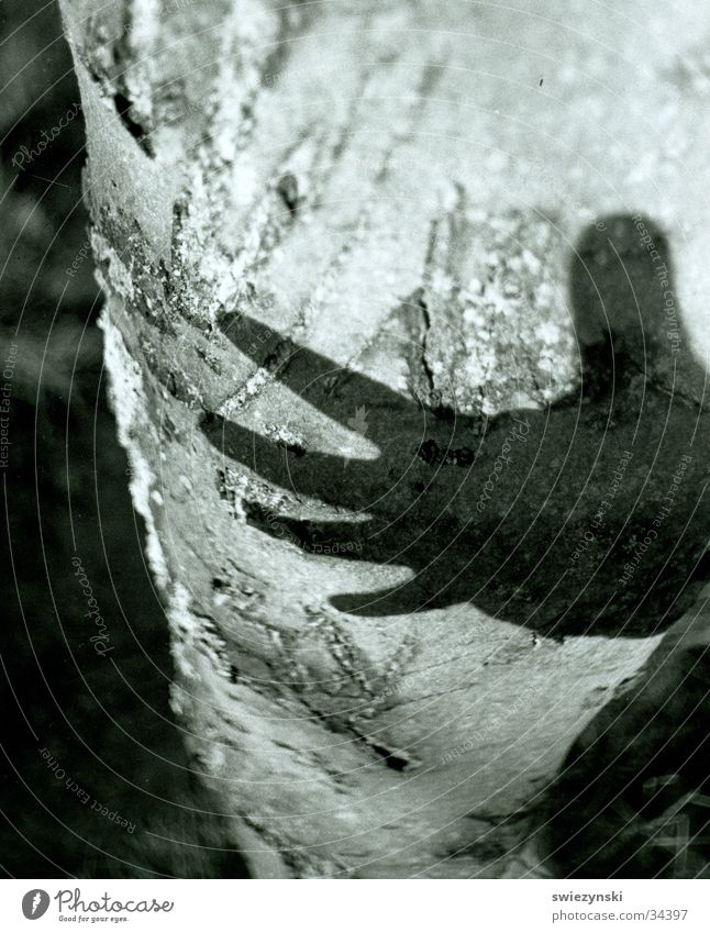 handschatten Hand Kraft Schatten Macht Zerstörung