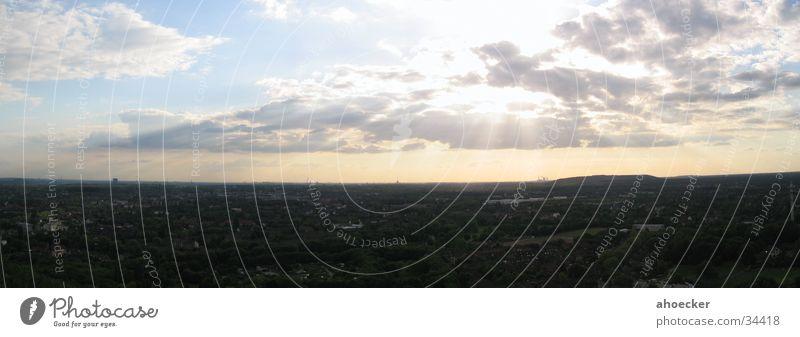 Tetraederaussicht Himmel Sonne blau Wolken Ernährung Beleuchtung Industriefotografie Aussicht