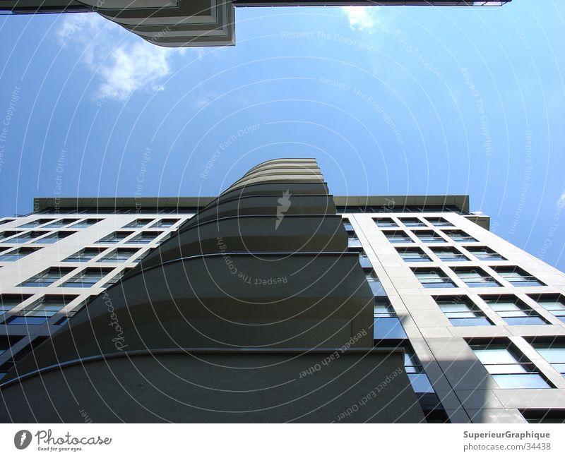 Balkonien Haus Potsdamer Platz Wolken Architektur Himmel