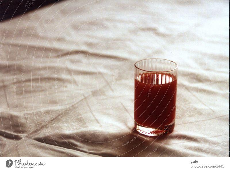 Aperitif rot Tisch Häusliches Leben orange Tischwäsche