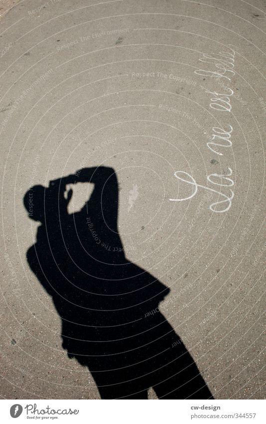 La vie est belle Mensch Kind Mann Jugendliche Erwachsene Junger Mann Wand Leben 18-30 Jahre Mauer Stil maskulin Fassade Freizeit & Hobby Schilder & Markierungen