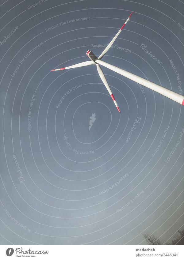 Windrad erneuerbare Energie Strom Windkraftanlage Erneuerbare Energie Energiewirtschaft Umwelt Umweltschutz ökologisch umweltfreundlich Technik & Technologie