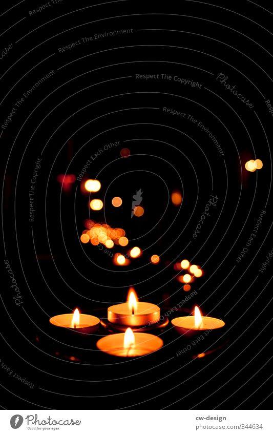 HEUTE: Gedenktag Weihnachten & Advent Erholung schwarz dunkel Traurigkeit Tod Religion & Glaube Feste & Feiern leuchten Warmherzigkeit Zeichen Trauer Romantik
