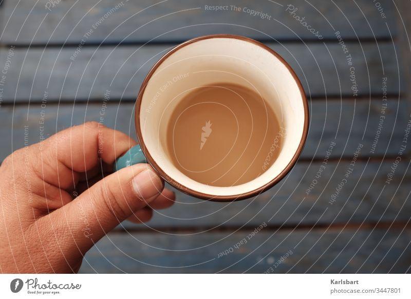 Kaffee am Morgen ... Kreativität kreativ nachhaltig Nachhaltigkeit Bioprodukte Frühstück Frühstückstisch Pause Kaffeepause Kaffeetasse Kaffeetrinken morgens