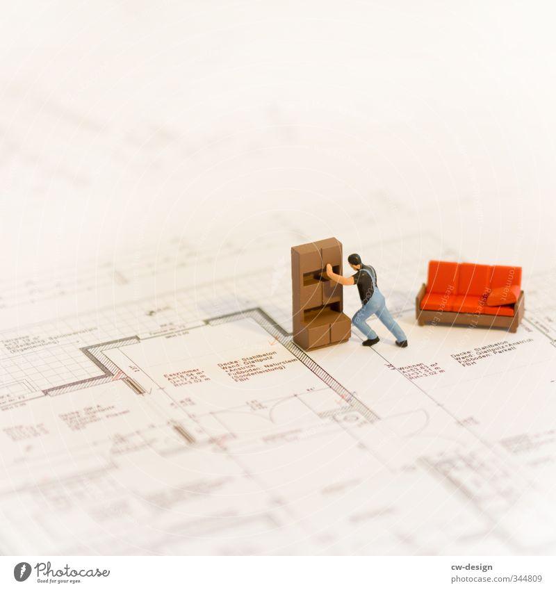 HEUTE: Tag der Arbeit Mensch Jugendliche Mann Junger Mann Erwachsene Leben Innenarchitektur Stil Arbeit & Erwerbstätigkeit maskulin Wohnung Raum