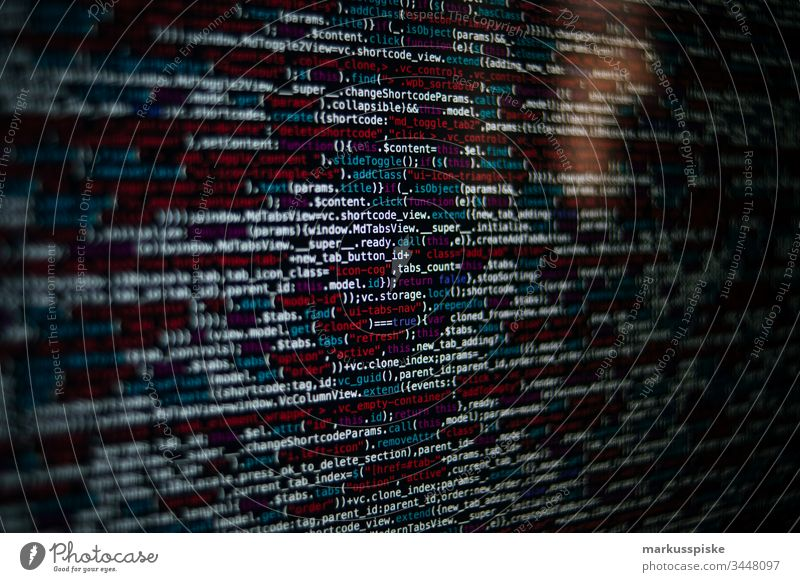 Quellcode HTML-Javascript Textfreiraum links Textfreiraum unten Textfreiraum oben Textfreiraum Mitte Textfreiraum rechts Website Webdesigner Typ Quelltext
