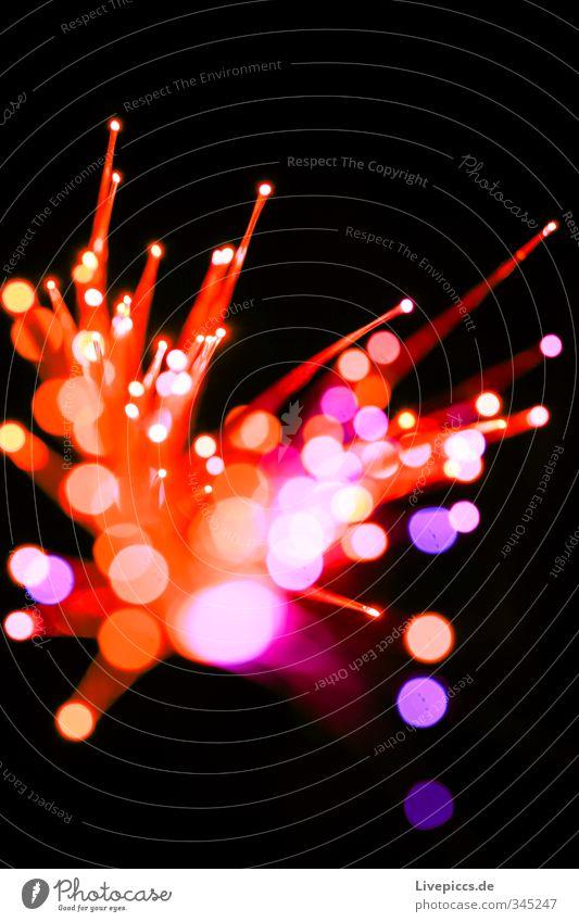 Räuberlicht Design Freizeit & Hobby Spielen Kinderspiel Spielzeug Kunststoff glänzend leuchten dünn hell retro rund Wärme wild violett orange rosa rot