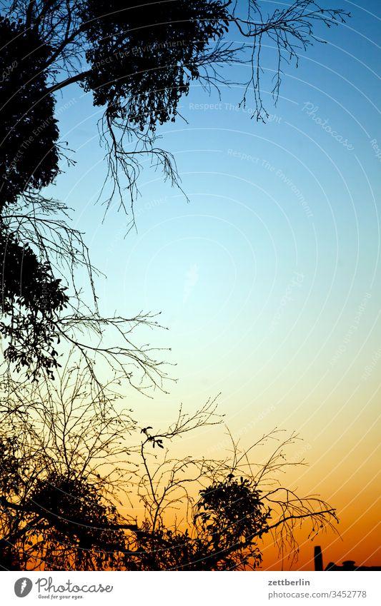 Dämmerung abend dämmerung farbspektrum feierabend himmel hintergrund klimawandel menschenleer meteorologie romantik romantisch sonnenuntergang textfreiraum