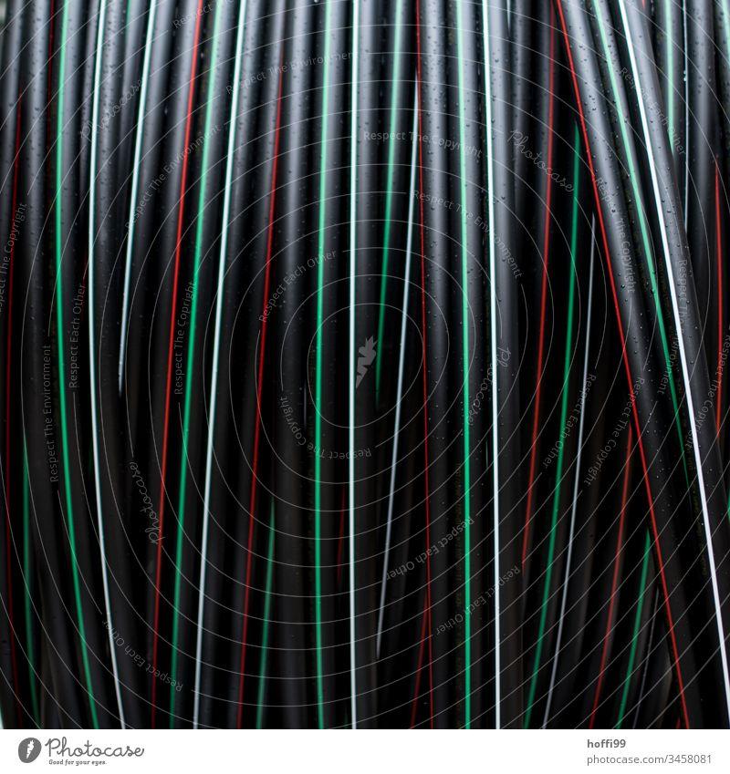 Schwarzer Schlauch auf Rolle Bewässerung Schläuche PVC Röhren Abwasserkanal Kunststoff Pipeline Material Klempnerarbeit verbinden Reparatur Wasserrohr