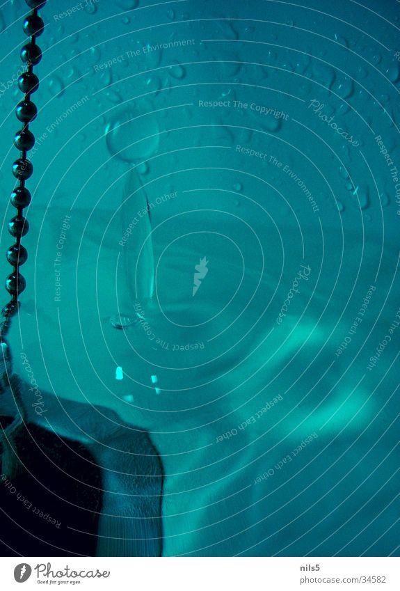 Wassertropfen Natur blau Physik Abfluss Momentaufnahme Waschbecken