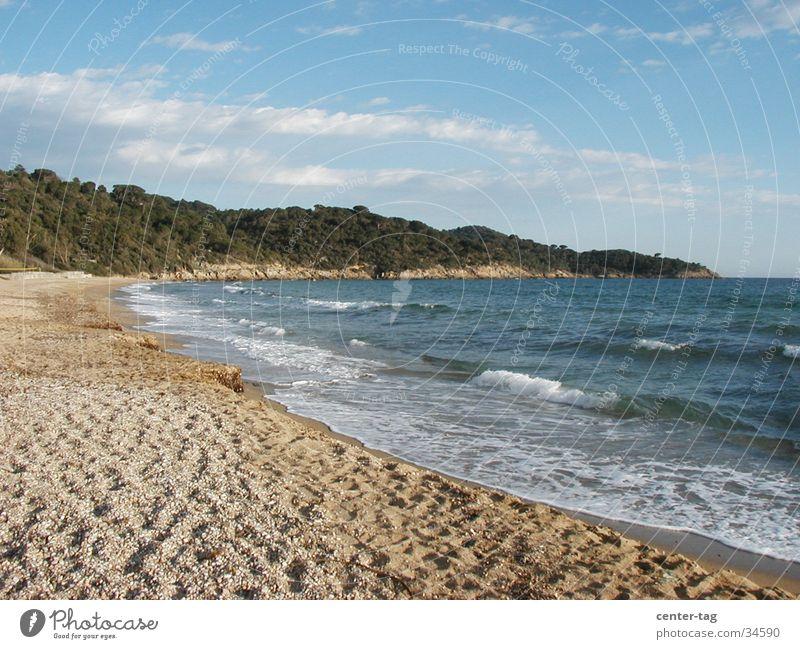 Plage Gigaro 1 Strand Frankreich Mittelmeer Cote d'Azur Bucht