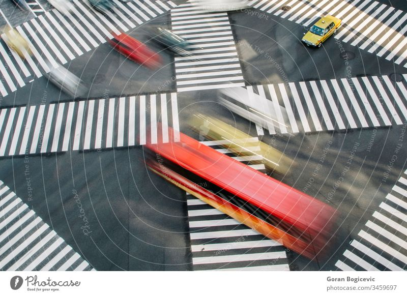 Ginza, Tokio Japanisch ginza Revier Menschen Zebra Tokyo Straße Überfahrt Großstadt Asien Verkehr Fußgänger asiatisch Gebäude Architektur urban Szene Menge