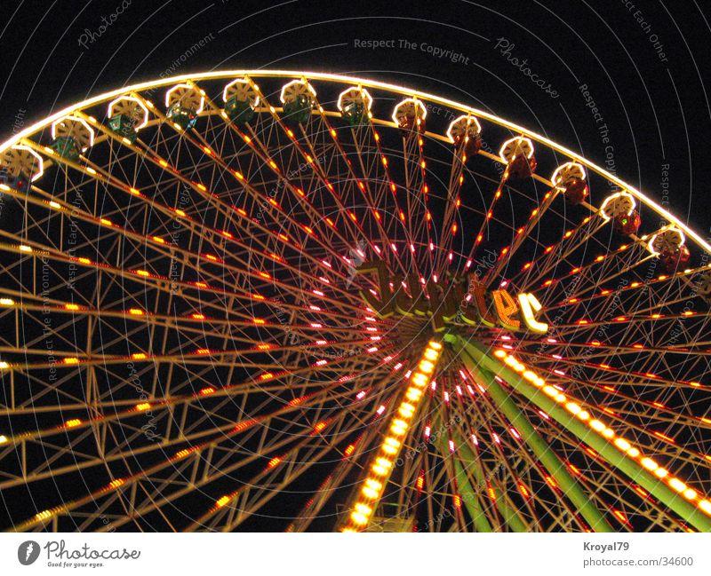riesenradnight Freude Feste & Feiern Freizeit & Hobby Jahrmarkt Riesenrad
