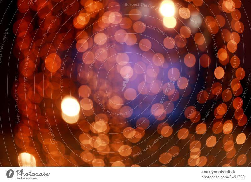 Abstraktion mit de fokussierten und verschwommenen Hintergründen. farbenfroher, verschwommener Bokeh-Hintergrund mit Retroeffekt Einfluss abstrakt Unschärfe